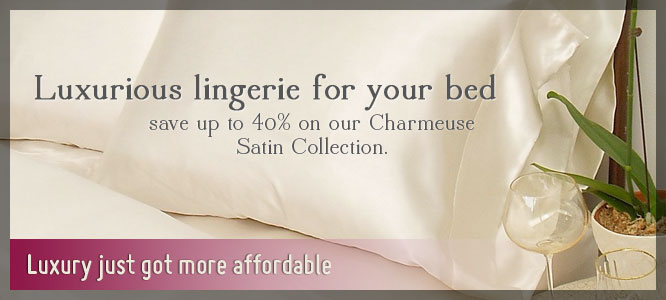 Luxury just got more affordable- Satin sheets 40% off