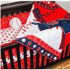 Boston Red Sox 4-Piece Crib Set