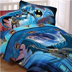 Batman Bedding for Kids-Lightning Night | By DomesticBin