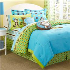 Bobby Jack GOING DOTTY Bedding for Kids Bedskirt | By DomesticBin