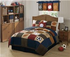 Classic Sports Quilted Bedding & Accessories