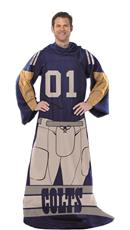 NFL COLTS Snuggler Blanket | By DomesticBin