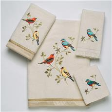 Gilded Birds Towel Sets | By DomesticBin