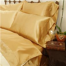 Gold Satin Sheets