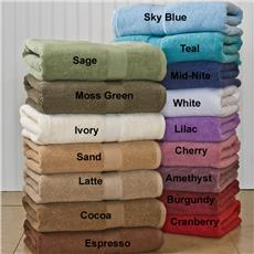 Growers Collection Supima Cotton Bath Towel Sets