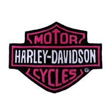 Harley Davidson Plush Rug Pink | By DomesticBin