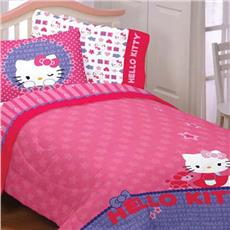 Hello Kitty- Kitty & Me Bedding for Girls | By DomesticBin