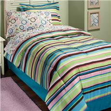 Mia Stripe Bed In A Bag Sets