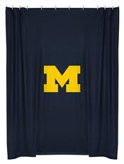 Michigan Wolverines Shower Curtain | By DomesticBin