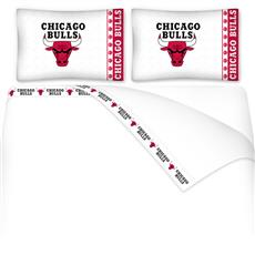 Chicago Bulls Microfiber Sheet Sets & Extra Pillowcases | By DomesticBin