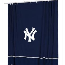 Yankees Shower Curtain | By DomesticBin