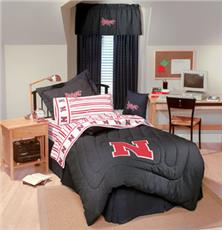 University of Nebraska Denim Bedding & Accessories for Kids | By DomesticBin