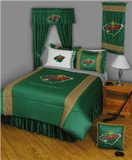 Sidelines MINNESOTA WILD Bedding | By DomesticBin