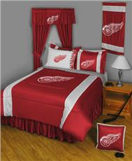 Sidelines DETROIT RED WINGS Bedding | By DomesticBin