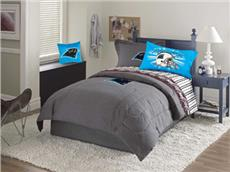 Carolina Panthers Denim Comforter & Sheet Set Combo | By DomesticBin