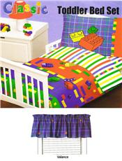 LEGO MAKE 'N CREATE TODDLER BEDDING SET