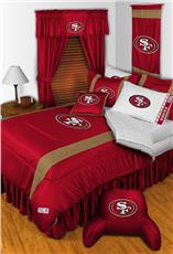 SAN FRANCISCO Sidelines  49ers Bedding and Accessories | By DomesticBin