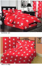 Rutgers University Collegiate Bedding | By DomesticBin