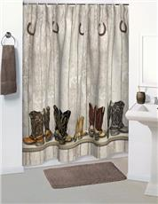 SADDLE UP Shower Curtain & Accessories
