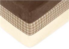 Teddy Bear Chocolate Crib Sheet | By DomesticBin