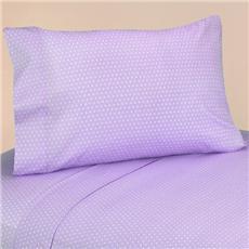 Mod Dots Purple Sheet Sets | By DomesticBin