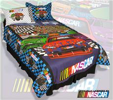 Nascar Twin/Full Comforter Set | By DomesticBin