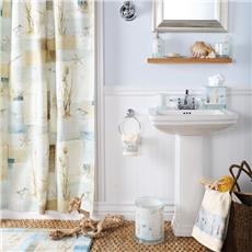 Blue Waters Shower Curtain, Towels & Bathroom Accessories