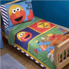 Sesame Street Construction Zone 4pc Toddler Set