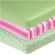 Olivia Crib Sheets | By DomesticBin
