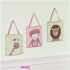 Jungle Friends Wall Hangings | By DomesticBin