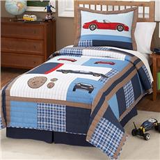 Cars Quilted Bedding & Accessories | By DomesticBin