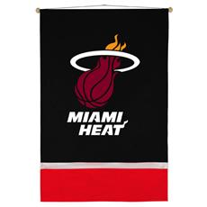 Miami Heat Sidelines Wall Hanging | By DomesticBin