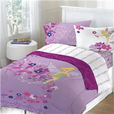 Tinkerbell Powder Purple Bedding for Girls | By DomesticBin