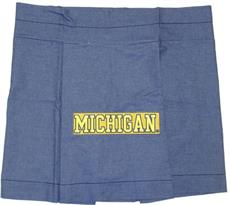 University of Michigan Denim Bedding & Accessories for Kids | By DomesticBin