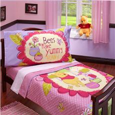 Pooh Yummy Honey 4pc Toddler Set | By DomesticBin