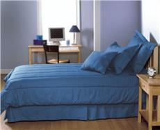 Solid Blue Denim Bedding & Accessories | By DomesticBin