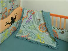 Little Lizards Bedding for Kids