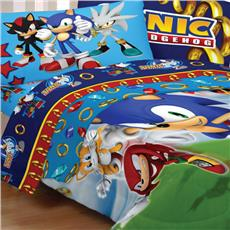 Sonic The Hedgehog Kids Bedding-Speed | By DomesticBin