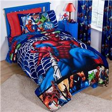 Spiderman Comic Kids Bedding for Boys | By DomesticBin