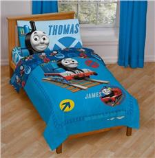 Thomas All Aboard Toddler Bedding Set | By DomesticBin