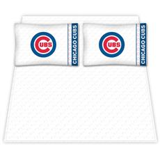 Chicago Cubs Microfiber Sheet Sets & Extra Pillowcases | By DomesticBin