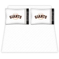 San Francisco Giants Microfiber Sheet Sets & Extra Pillowcases | By DomesticBin