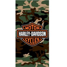 Harley Davidson Camo Beach Towel | By DomesticBin