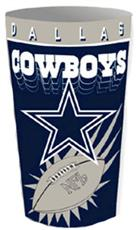 Dallas Cowboys Wastebasket | By DomesticBin