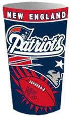 New England Patriots Wastebasket | By DomesticBin