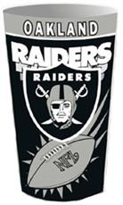 Oakland Raiders Wastebasket | By DomesticBin