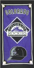 COLORODO ROCKIES Cap Series Beach Towel | By DomesticBin