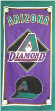 ARIZONA DIAMONDBACKS Beach Towel | By DomesticBin