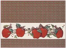 COUNTRY APPLE Placemat | By DomesticBin