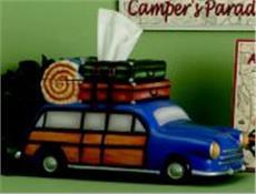 CAMP RUN-A-MUCK Wagon Tissue Cover | By DomesticBin